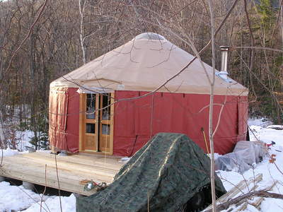 Our new yurt