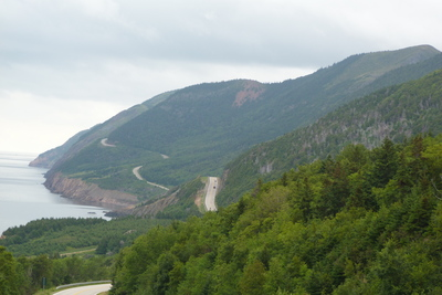 Entry to Cape Breton Highlands National Park